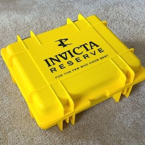 Invicta 15 Slot Collector Yellow Watch box case